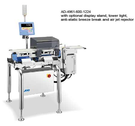 AD4961-600-1224 checkweigher with flipper rejector