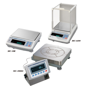 MC Series Mass Comparators (Precision Balances with Extended Resolution)